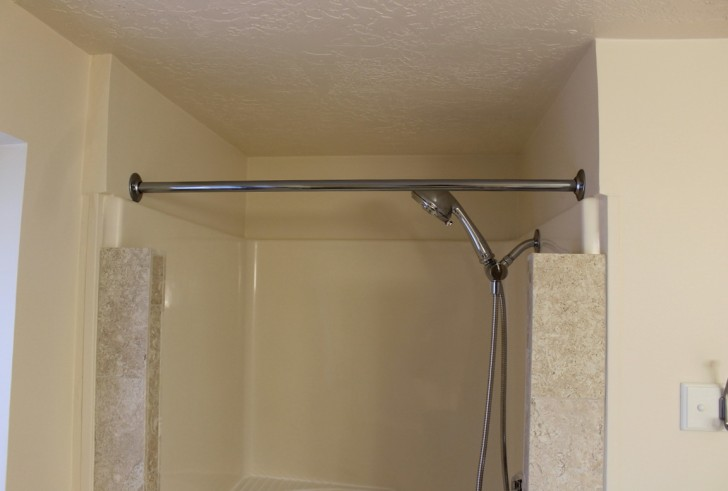 Permalink to Shower Curtain Rod Installation