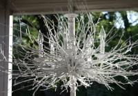 Silver Tree Branch Chandelier
