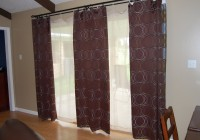 sliding glass door curtains ideas