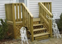 Small Wood Deck Plans