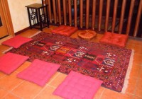 square floor cushions japanese