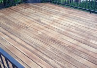 Staining A Deck In The Sun