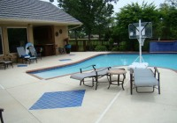 Stamped Concrete Pool Deck Slippery
