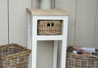 Tall Side Table With Drawers