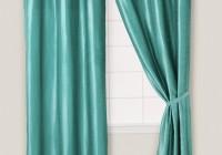 Teal Blue Curtain Panels