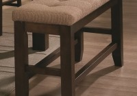 Upholstered Counter Height Bench