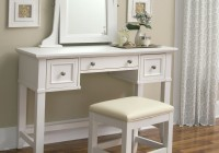 Vanity Table With Mirror And Bench