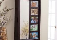 Wall Mirror Jewelry Armoire