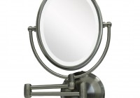 Wall Mounted Lighted Makeup Mirror Home Depot