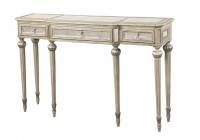 White Vintage Console Table