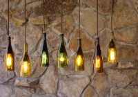 Wine Bottle Chandelier Etsy