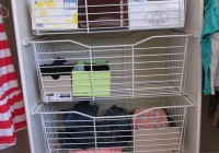 wire closet organizers with drawers
