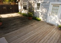 Wood Deck Cleaner Homemade