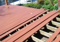 wood deck framing plans