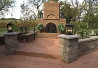 Wood Patio Deck Designs