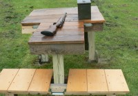 Wood Shooting Bench Plans