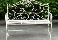 Wrought Iron Benches Garden