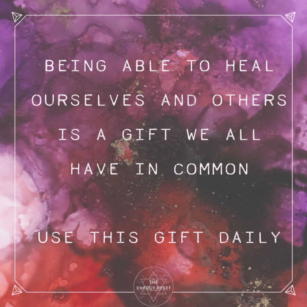 The Gift of Healing