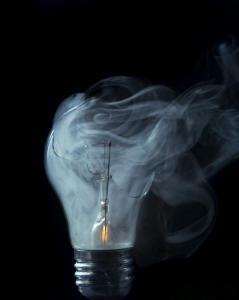 blown bulb