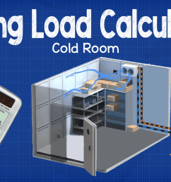 cooling load calculation cold room [ 1280 x 720 Pixel ]
