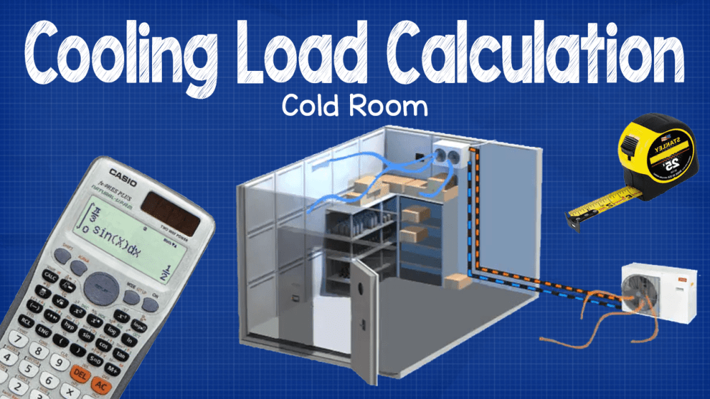 medium resolution of cooling load calculation cold room