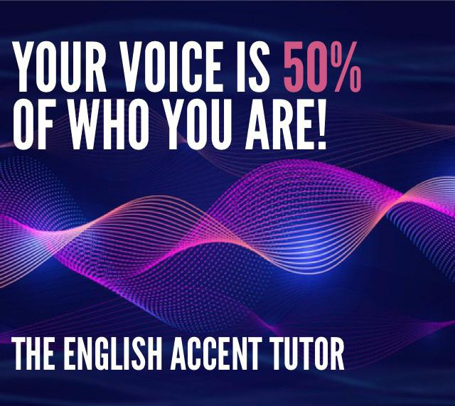 Your voice is 50% of who you are!