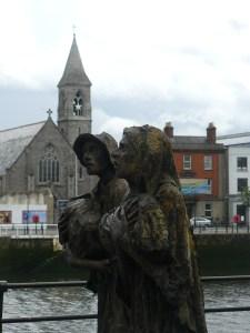 Mémorial de la grande famine Dublin