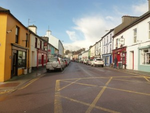 Main Street in Schull, Cork Co. , Ireland