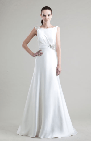 """Kendall"" from the 2013 Jenny Yoo bridal collection."