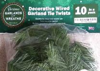 Wire Garland Twist Ties