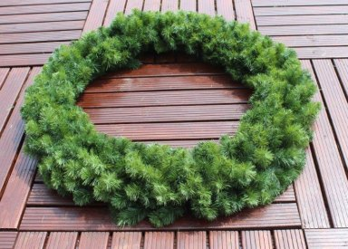 150cm single sided wreath