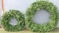 90 cam and 120cm commercial luxury wreaths