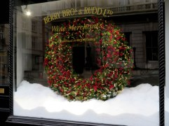Berry Bros. & Rudd wine merchants, St James's Street, London