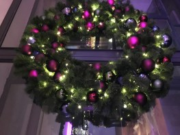 Stunning Christmas wreath by Curious Events