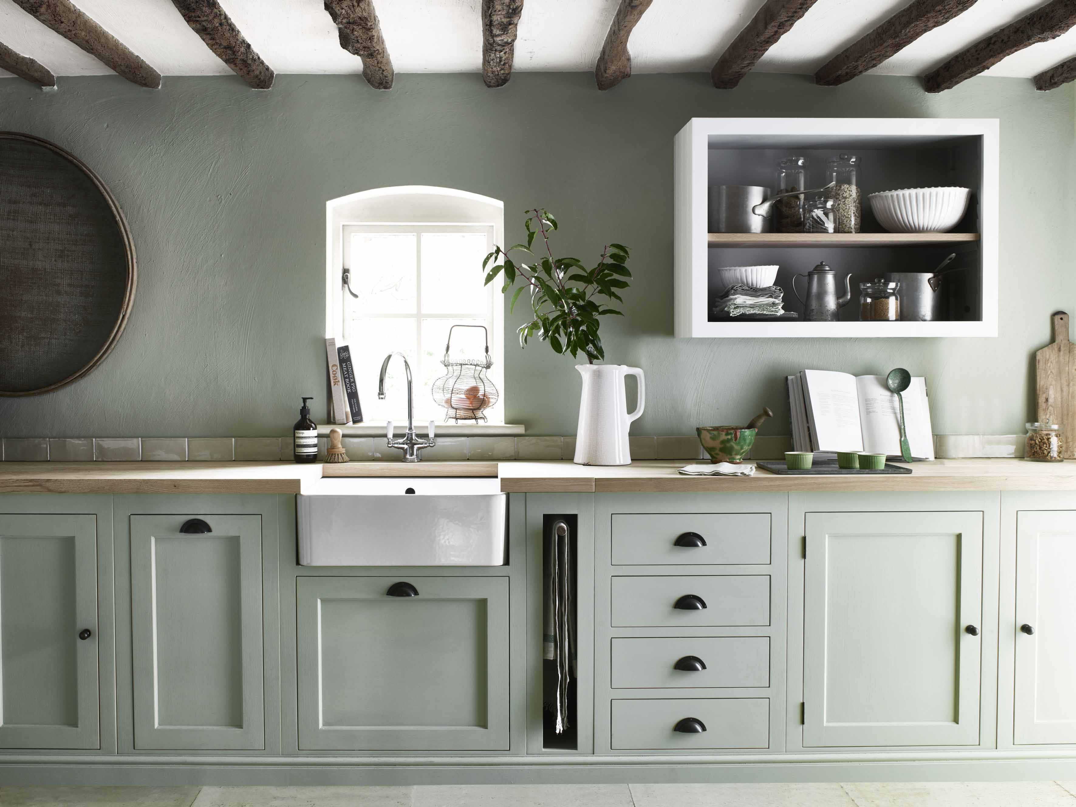Colour Series Decorating With Sage Green The English Home
