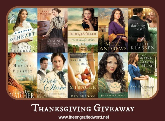 Thanksgiving Giveaway - The Engrafted Word