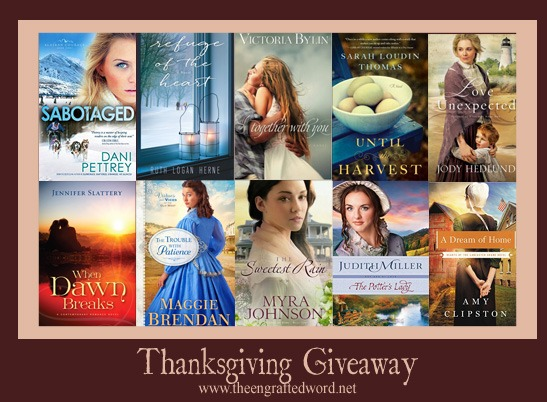 2015 Thanksgiving Giveaway - The Engrafted Word