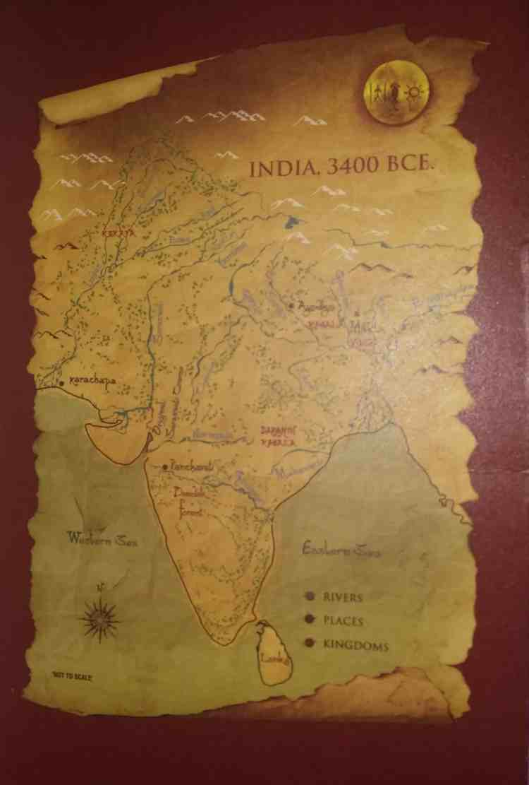 map of india - 3400 bce