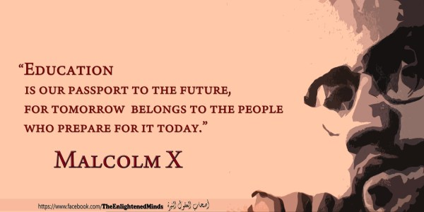Malcolm X Selected Quotes And Poster Design