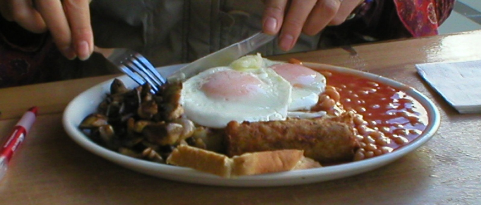 Veggie breakfast no1