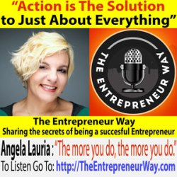 057: Action is The Solution to Just About Everything with Dr Angela Lauria Founder of The Author Incubator
