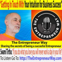 032: Getting In Touch with Your Intuition for Business Success with Swami Tirtha of The Hip Guru's Guide