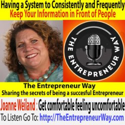 150: Having a System to Consistently and Frequently Keep Your Information in Front of People with Joanne Weiland Owner and Founder of Link to Expert