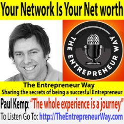 185: Your Network Is Your Net Worth with Paul Kemp Founder and Owner of the App Guy Podcast
