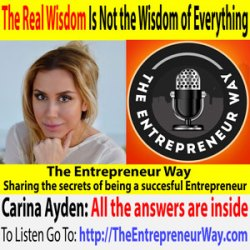323: The Real Wisdom Is Not the Wisdom of Everything with Carina Ayden Founder and Owner of EFFi Foods