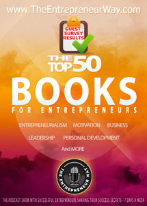 Top 50 Books for Entrepreneurs
