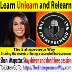 351: Learn, Unlearn and Relearn with Shani Atapattu Founder and Owner of Elephantea