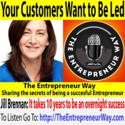 499: Your Customers Want to Be Led with Jill Brennan Founder and Owner of Harbren Marketing
