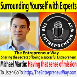 517: Surrounding Yourself with Experts with Michael Martin Co-Founder and Co-Owner of RapidSOS Inc