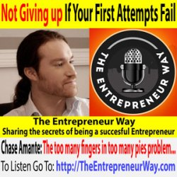 583: Not Giving up If Your First Attempts Fail With Chase Amante Founder and Owner of Girls Chase